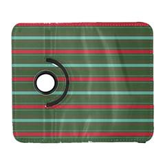 Horizontal Line Red Green Galaxy S3 (flip/folio)