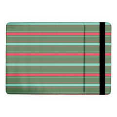 Horizontal Line Red Green Samsung Galaxy Tab Pro 10 1  Flip Case