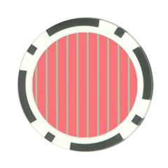 Line Red Grey Vertical Poker Chip Card Guard