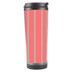 Line Red Grey Vertical Travel Tumbler