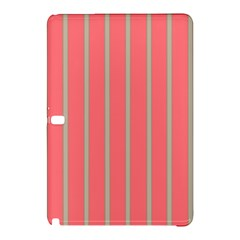 Line Red Grey Vertical Samsung Galaxy Tab Pro 10 1 Hardshell Case