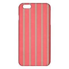 Line Red Grey Vertical Iphone 6 Plus/6s Plus Tpu Case