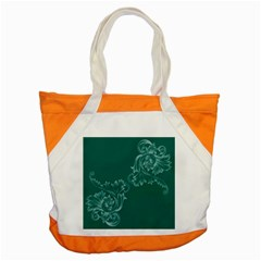 Leaf Green Blue Sexy Accent Tote Bag