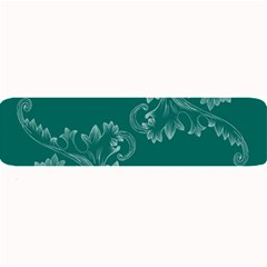 Leaf Green Blue Sexy Large Bar Mats