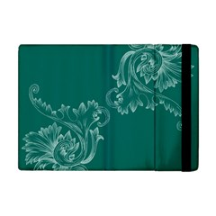 Leaf Green Blue Sexy Apple Ipad Mini Flip Case