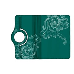 Leaf Green Blue Sexy Kindle Fire Hd (2013) Flip 360 Case