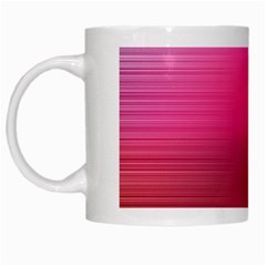 Line Pink Space Sexy Rainbow White Mugs