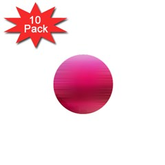 Line Pink Space Sexy Rainbow 1  Mini Buttons (10 Pack)