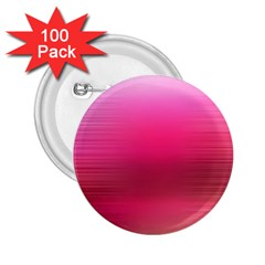 Line Pink Space Sexy Rainbow 2 25  Buttons (100 Pack)