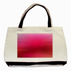 Line Pink Space Sexy Rainbow Basic Tote Bag (two Sides)