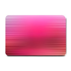 Line Pink Space Sexy Rainbow Small Doormat