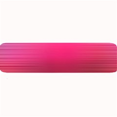 Line Pink Space Sexy Rainbow Large Bar Mats