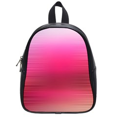 Line Pink Space Sexy Rainbow School Bag (small)
