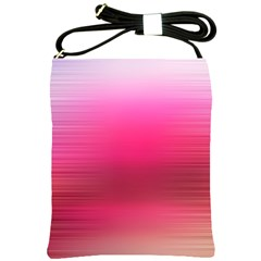 Line Pink Space Sexy Rainbow Shoulder Sling Bags