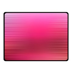 Line Pink Space Sexy Rainbow Fleece Blanket (small)