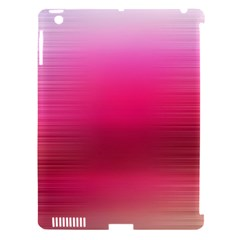 Line Pink Space Sexy Rainbow Apple Ipad 3/4 Hardshell Case (compatible With Smart Cover)
