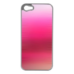 Line Pink Space Sexy Rainbow Apple Iphone 5 Case (silver)