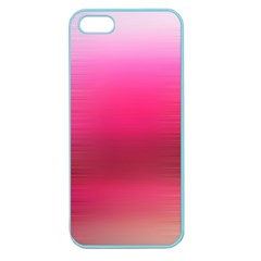 Line Pink Space Sexy Rainbow Apple Seamless Iphone 5 Case (color)