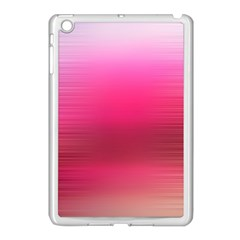 Line Pink Space Sexy Rainbow Apple Ipad Mini Case (white)