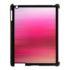 Line Pink Space Sexy Rainbow Apple Ipad 3/4 Case (black)