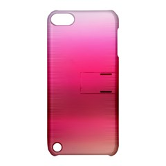 Line Pink Space Sexy Rainbow Apple Ipod Touch 5 Hardshell Case With Stand