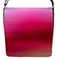 Line Pink Space Sexy Rainbow Flap Messenger Bag (s)