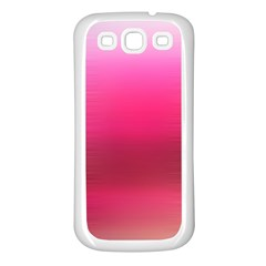 Line Pink Space Sexy Rainbow Samsung Galaxy S3 Back Case (white)
