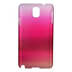 Line Pink Space Sexy Rainbow Samsung Galaxy Note 3 N9005 Hardshell Case