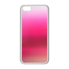Line Pink Space Sexy Rainbow Apple Iphone 5c Seamless Case (white)