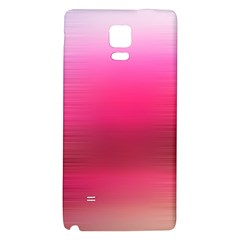Line Pink Space Sexy Rainbow Galaxy Note 4 Back Case