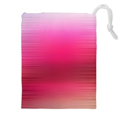 Line Pink Space Sexy Rainbow Drawstring Pouches (xxl)