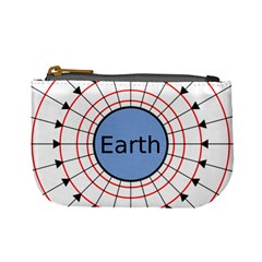 Magnetik Earth s Gravitational Line Triangle Mini Coin Purses