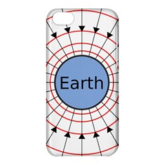 Magnetik Earth s Gravitational Line Triangle Apple Iphone 5c Hardshell Case