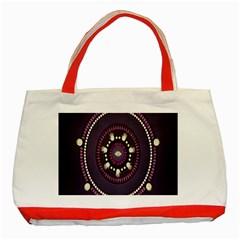 Mandalarium Hires Hand Eye Purple Classic Tote Bag (red)