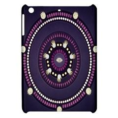 Mandalarium Hires Hand Eye Purple Apple Ipad Mini Hardshell Case