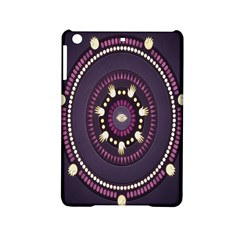 Mandalarium Hires Hand Eye Purple Ipad Mini 2 Hardshell Cases