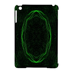 Green Foam Waves Polygon Animation Kaleida Motion Apple Ipad Mini Hardshell Case (compatible With Smart Cover)
