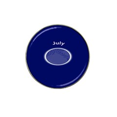 Moon July Blue Space Hat Clip Ball Marker (4 Pack)