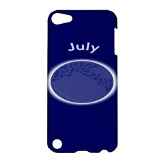 Moon July Blue Space Apple Ipod Touch 5 Hardshell Case