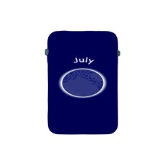 Moon July Blue Space Apple Ipad Mini Protective Soft Cases