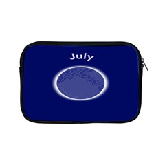 Moon July Blue Space Apple Ipad Mini Zipper Cases