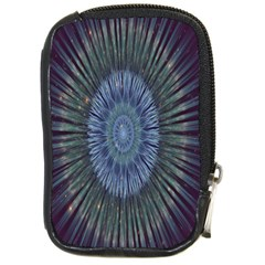 Peaceful Flower Formation Sparkling Space Compact Camera Cases