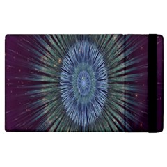 Peaceful Flower Formation Sparkling Space Apple Ipad 3/4 Flip Case
