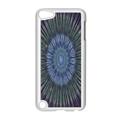 Peaceful Flower Formation Sparkling Space Apple Ipod Touch 5 Case (white)
