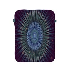 Peaceful Flower Formation Sparkling Space Apple Ipad 2/3/4 Protective Soft Cases