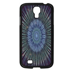 Peaceful Flower Formation Sparkling Space Samsung Galaxy S4 I9500/ I9505 Case (black)