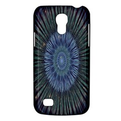 Peaceful Flower Formation Sparkling Space Galaxy S4 Mini