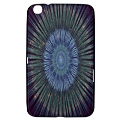 Peaceful Flower Formation Sparkling Space Samsung Galaxy Tab 3 (8 ) T3100 Hardshell Case