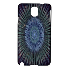 Peaceful Flower Formation Sparkling Space Samsung Galaxy Note 3 N9005 Hardshell Case