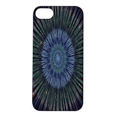 Peaceful Flower Formation Sparkling Space Apple Iphone 5s/ Se Hardshell Case